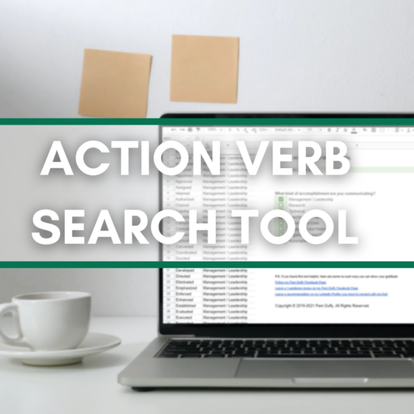 Resume Action Verb Search Tool